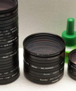 защитные светофильтры 49 мм, 55 мм, 62 мм