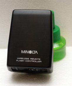 Minolta wireless remote flash controller