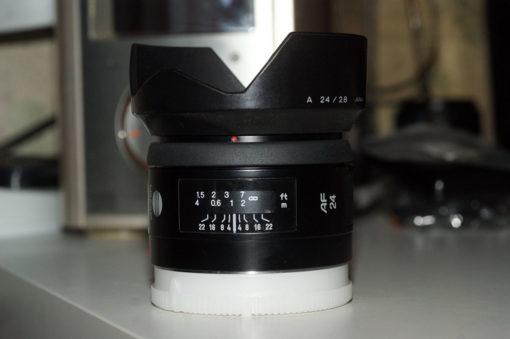 Объектив Minolta AF 24mm F2.8 RS