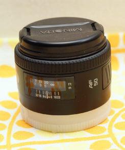 Объектив Minolta 50 1.4 RS для Sony alpha