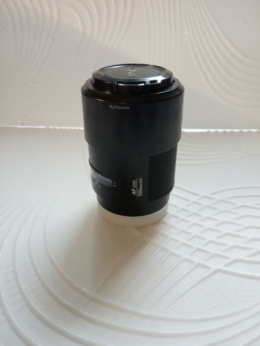 Объектив Minolta AF 100/2.8 macro (первая версия)