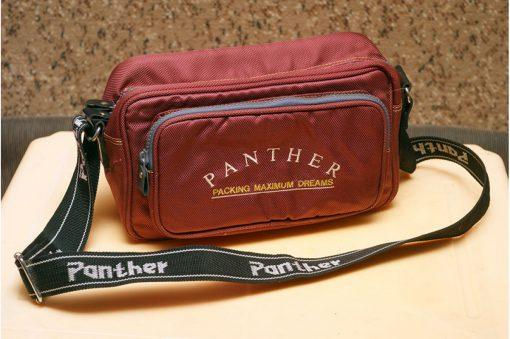 Фотосумка Panther красного цвета