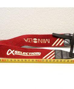 Ремень Minolta красного цвета 60 см