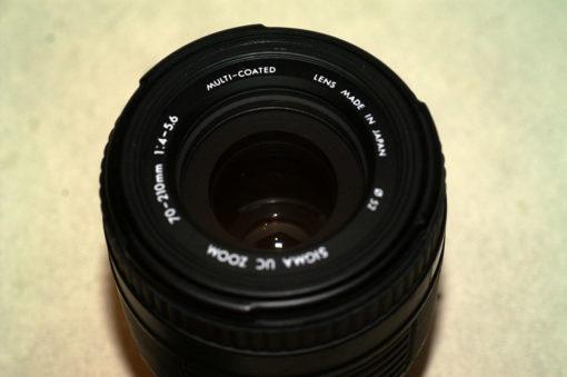 объектив Sigma 70-210/4-5.6 с байонетом А.